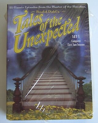 Tales of the Unexpected Set 1 Complete First Two Season DVD, 2004 4 Disc Set NEW