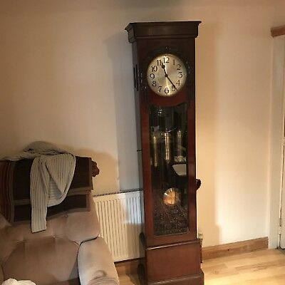 Edwardian Grandfather Clock, Westminster Chimes