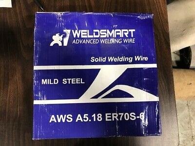 Mild Steel MIG Welding 33 Lb Wire Spool ER70S-6 Copper Coated