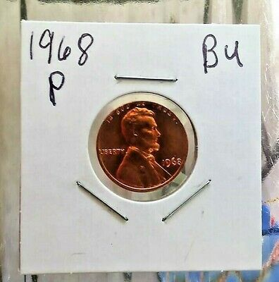 1968 P Lincoln Memorial Penny Super Nice Coin tiny spots