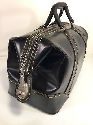 Cheney Medical Doctors Lawyer Pilot Vintage Briefcase Veterinarian Tool Bag USA