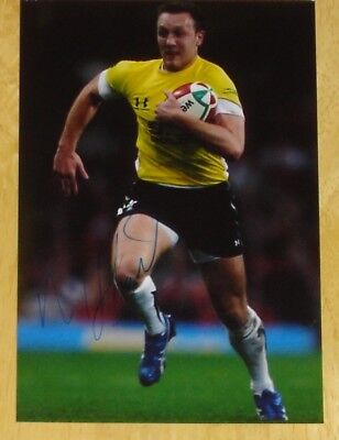 Morgan Stoddart Wales Rugby Personally Hand Signed Autograph Photo