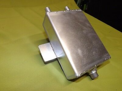 Aluminium oil catch/breather tank # stock car # autograss # hot rod #rally car