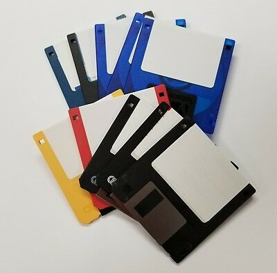 """LOT OF 10  RECYCLED 3.5"""" Floppy Disks 1.44MB DS/HD"""