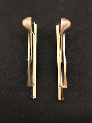 Marvin Casement Window Hardware, Truth Lock Assembly, Antique Brass (Pair)