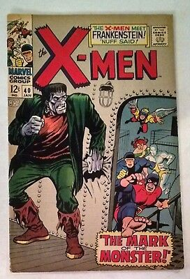 The X-Men #40 (Jan 1968, Marvel)