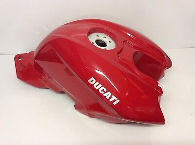 Genuine OEM NEW Ducati 848 1098 SFS Streetfighter Fuel Tank Red Petrol Gas Tank