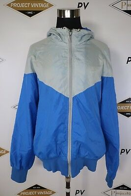 dc19142fb2a C0869 VTG 80 90's Men's NIKE Retro Pullover Hip Hop Windbreaker Track Jacket  M