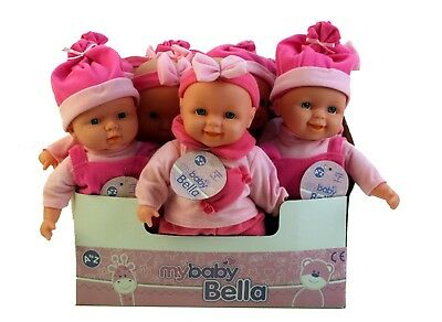 My Baby Bella Soft Bodied Dolls - Ideal First Doll - Age 18 Months +