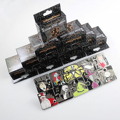 Disney trading pins Nightmare Before Christmas mystery puzzle 10 pin set LE900