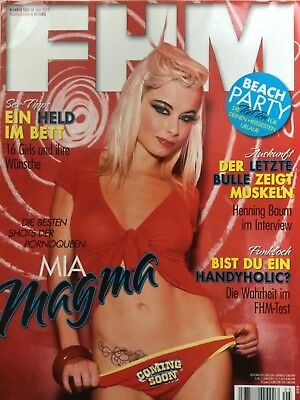 FHM - 138 - Mia Julia Magma - Avery Belle - Anna - Partygirls - FHM-Girl 2012