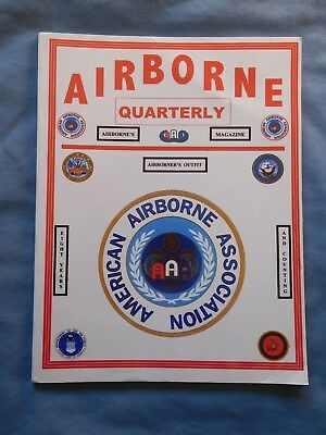 Airborne Quarterly Sum 2004 Magazine WWII Overlord Leyete Troop Carrier Germany