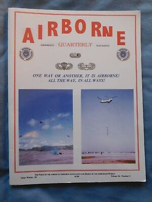 Airborne Quarterly Win 2003 Magazine WWII Holland Brazil 440 Troop Carrier