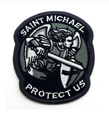 Polizei Saint Michael Textil Klett Patch