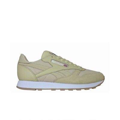 fdd6556c676 REEBOK CLASSIC LEATHER Mu (STRAW WHITE) Men s Shoes BS9722 -  49.99 ...