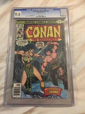 Conan The Barbarian CGC 9.6 82 Awesome Cover!!!!