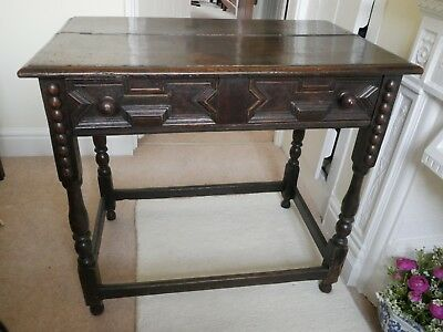 Jacobean Style Side Table