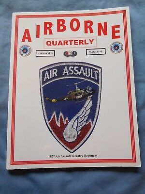 Airborne Quarterly Sum 2009 Magazine WW2 Los Banos 2nd Rangers Camp Toccoa TORCH