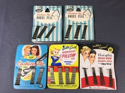 Vintage 1950's Bobby Pins Lot