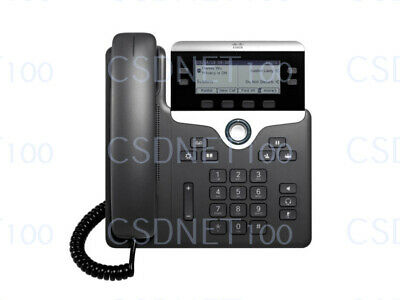 New Original Cisco CP-7841-K9 VoIP IP LCD Display Phone Factory Sealed