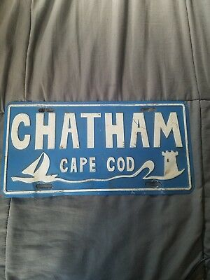 Chatham Massachusetts Cape Cod town license plate attachment topper lighthouse