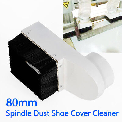 80mm Spindle Dust Shoe Cover Cleaner for CNC Engraving Milling Machine USA STOCK