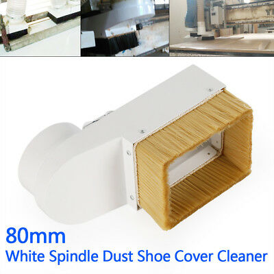 CNC Engraving Milling Machine Spindle Dust Shoe Cover Cleaner 80mm Pubescence US