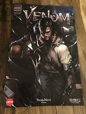 Venom #1 AMC Marvel Comics Limited Edition Exclusive Promo Movie Comic IN HAND