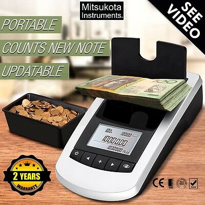 Digital Money Counter Scales MK-95i Counts loose coins/banknotes/tokens in tills