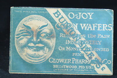 O-Joy Corn Wafers Envelope, Cannabis Indica, Glower Pharmacy Co., Brentwood, MD