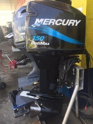 150hp Mercury Optimax Outboard Motor