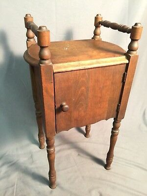 Tobacco Smoke Stand Smoker Antique Pipe Cigar Cigarette Vintage Wood Display USA
