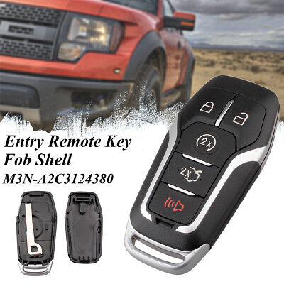 Smart Prox Remote Key Shell Case Fob 5 Button For Ford F150 F250 M3n