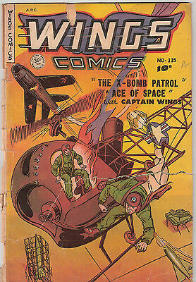Wings Comics  115,  119,  120 (A.N.C. 1951)