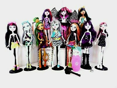 Monster High Dolls some rare cleo jinafire skelita choose your own all vgc no4