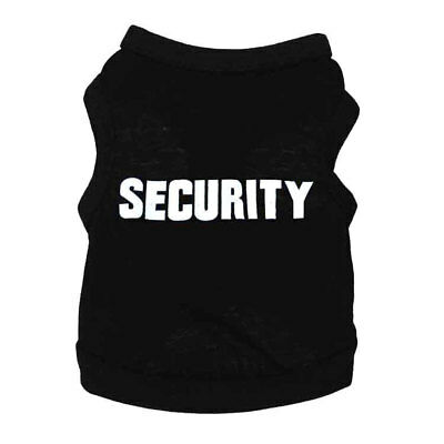 SECURITY Dog Clothes Sweatshirt Pet Puppy Coats Hoodie Small Large Dogs Clothing