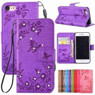 3 in 1 Wallet Leather Case Flip Stand Phone Cover For iPhone 7 8 6 6s /Plus Case