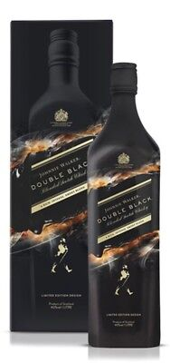 Johnnie Walker Double Black Shadow Blended Scotch Whisky Limited Edition Design
