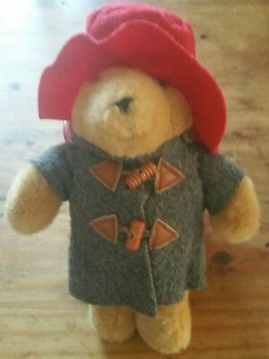 Original Schildkröt Paddington Bear Teddy Bär unbespielt Duffle Coat British