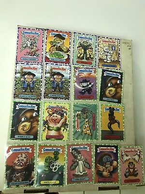 Garbage Pail Kids Oh The Horrible Lot Of 17 6-Purple 11-Green Pack Fresh 2018