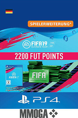 Ps4 Fifa 19 Ultimate Team 2200 Fut Points Key Playstation 4 Code
