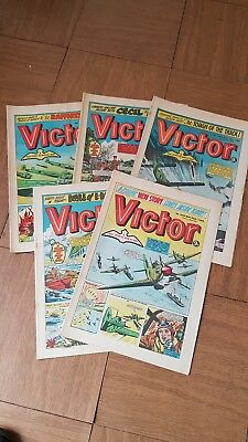 Victor Comics Selection From Issues 1001-1005 All In Vgc