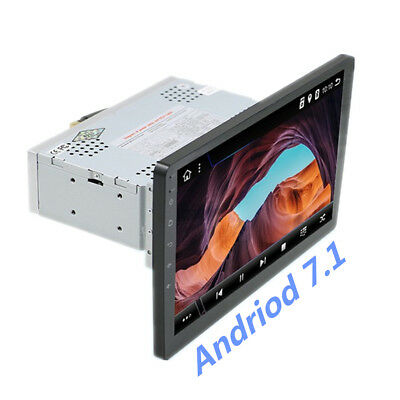 "Android 7.1 1Din 9"" 1080P Auto Stereo Touch 4Core Radio GPS Wifi DAB RDS 1+16G"