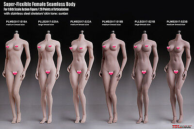 TBLeague Female Body Model S18A S19B S20A S21B S22A S23B PALE Suntan Semaless
