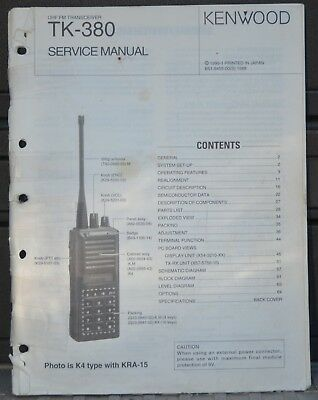 kenwood tk 3160 service repair manual set uhf fm transceiver tk 3160 rh picclick com kenwood tk 360 manual Kenwood TK-480