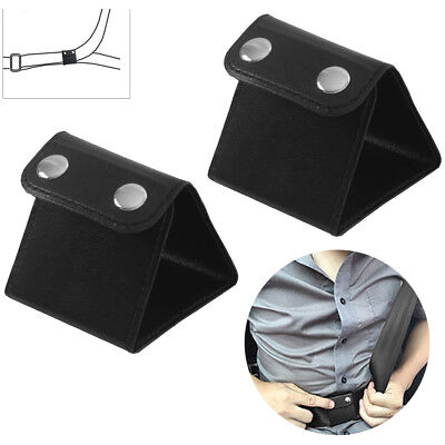 2X Car Seat Belt Adjuster Shoulder Neck Strap Positioner Clip Protector