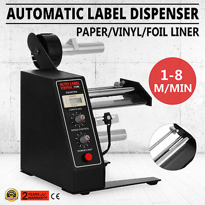NEW Automatic Auto Label Dispenser Stripper Separating Machine AL-1150D