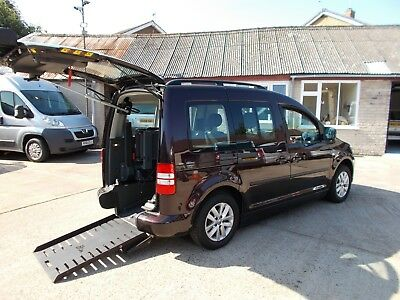 Wheelchair Accessible Wav Disabled  2012 Volkswagon Caddy Auto Drive From 20K