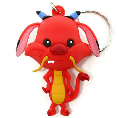 Disney 3D Figural Keyring Series 12 MUSHU KEYCHAIN Opened Blind Bag Mulan