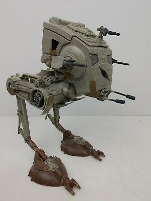 AT-ST WALKER Star Wars Toy Battle Of Hoth Empire Imperial Scout Hasbro Vintage